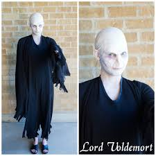 Lord Voldemort Halloween Costume Delicious Reads Harry Potter Book Club Costume Ideas