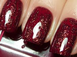 fashion polish crackles golden rose metallic graffiti nail art