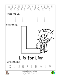letter l worksheets worksheets reviewrevitol free printable