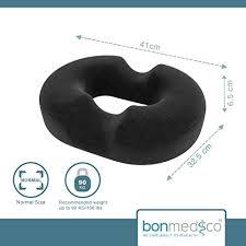 cuscino per emorroidi bonmedico皰 cuscino ortopedico rotondo a ciambella con innovativo