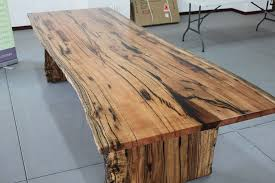 marri slab dining table arcadian concepts specialising in