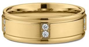 mens gold wedding bands 5 popular yellow gold men s wedding rings ritani