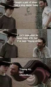 Rick Grimes Crying Meme - found on memes humor and walking dead
