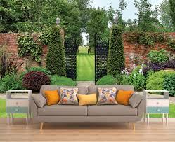 english garden wall mural wallpaper garden romantic wall decal