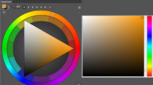triángulo y cuadro del color en photoshop magic picker coolorus