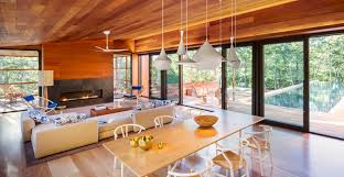 Interior Design Jobs San Antonio Cantilevered Modern Cabin With Wood Interior And Exterior 2015