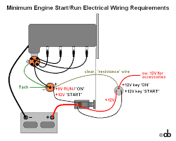 bare bones engine wiring diagram