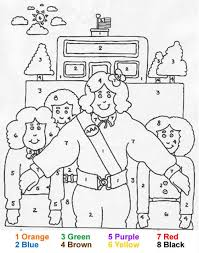 family coloring pages hellokids