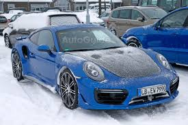 Porsche 911 In Snow - porsche 911 gt2 rs mule spied testing in the snow autoguide com news