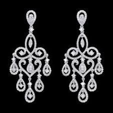 Designer Chandelier Earrings Designer Chandelier Earrings 15 88ct 18k Gold
