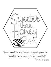 look to him and be radiant sweeter than honey theme resources