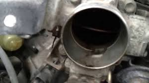 throttle body cleaning toyota lexus v6 youtube