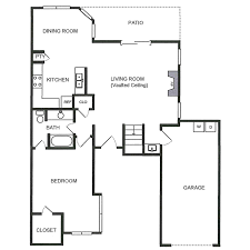 Vaulted Ceiling Floor Plans C1 U2013 Waterbury Place Townhomes