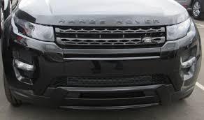 all black range rover gloss black front grille for range rover evoque pure prestige