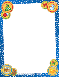 free christmas borders clip art page borders and vector graphics