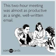 Work Meeting Meme - highered putting an end to long exhaustive meetings