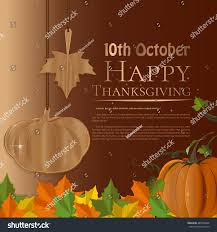 design thanksgiving day canada autumn 2016 stock vector 487096669