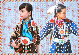 wendy red star makes probing art about native american identity i d