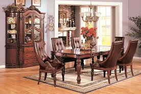 Formal Dining Room Sets With China Cabinet by 01960 Artemis Dining Room In Cherry Finish By Acme