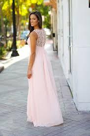 Light Pink Bridesmaid Dress Light Pink Crochet Maxi Dress Pink Bridesmaid Dress U2013 Saved By