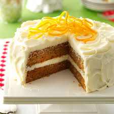 citrus kissed sweet potato cake recipe taste of home