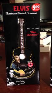 2012 elvis guitar ornament