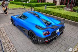 blue koenigsegg agera r koenigsegg agera r 29 june 2016 autogespot