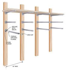 Wood Storage Rack Plans by Storing Lumber Popular Woodworking Magazine