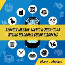 renault megane scenic ii 2003 2004 wiring diagrams color diagrams
