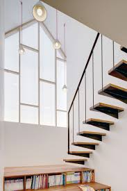 home library design uk casters library stairs mlnp architects design library stairs for
