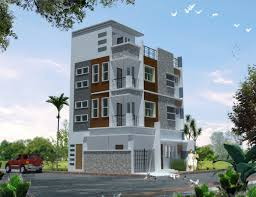 3 storey residential w roofdeck jmoarchitecture