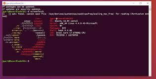tutorial on ubuntu make bash on ubuntu on windows 10 look like the ubuntu terminal