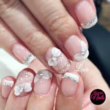 gelish manicure and nail art in orchard singapore