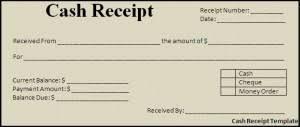 ms word cash receipt template