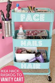 ikea makeup vanity 9 awesome diy ikea hacks for your beauty nook shelterness