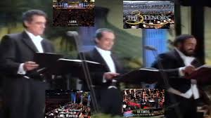 the three tenors in concert 1994 los angeles usa 16th july