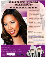 makeup school nc atlanta prom makeup fundraiser 50 hair makeup proceeds go