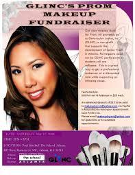 atlanta prom makeup fundraiser 50 hair makeup proceeds go to charity you