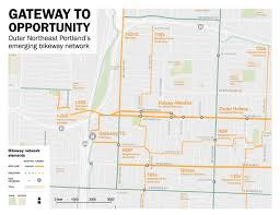 Trimet Max Map National Org Will Help Portland U0027s Gateway District Make A U0027big