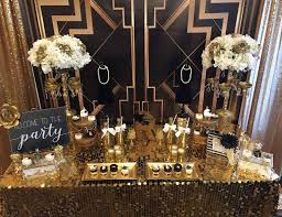 50th Birthday Party Decoration Ideas 1920s Party Ideas For A Grown Up Birthday Catch My Party