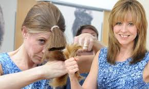 cutting hair upside down is a diy hairdo a shortcut to disaster as more women skip the