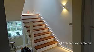 led treppe treppenhaus treppe lichtleiste led lichtkonzepte gmbh