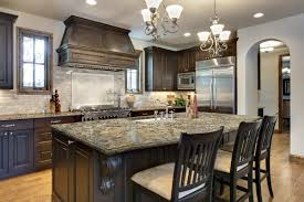 looking at doing dark cabinets a black brown type color