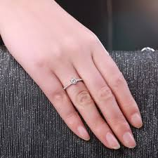 fine engagement rings images 0 4 ct i j si classic six claw diamond rings for woman gvbori jpg