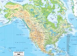 America Longitude And Latitude Map by North America Latitude And Longitude Map America Map Latitude And