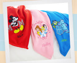 12 personalized disney fleece throws bargains to bounty