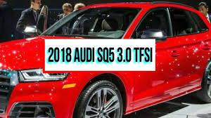 new 2018 audi sq5 3 0 tfsi 2017 detroit auto show youtube