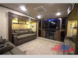 fifth wheels with front living rooms for sale 2017 forest river sandpiper 377flik front living fifth wheel get way