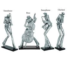 sculptures home decor 59 99 each all that jazz musician table sculptures home decor