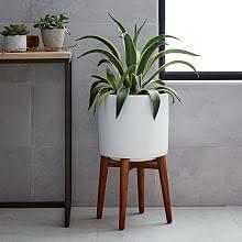 modern hanging planters indoor planters terrariums west elm